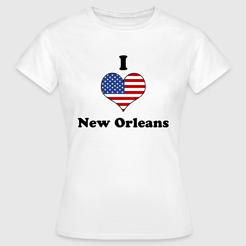 I love New Orleans Tee shirts - T-shirt Femme