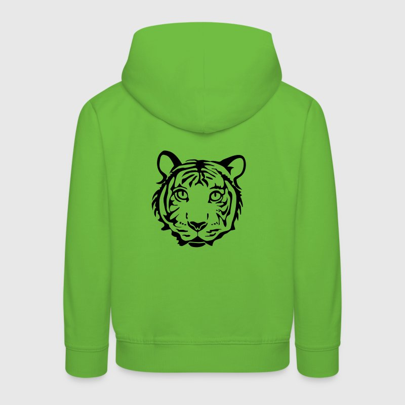 chat tigre lion Sweats Enfants - Pull à capuche Premium Enfant