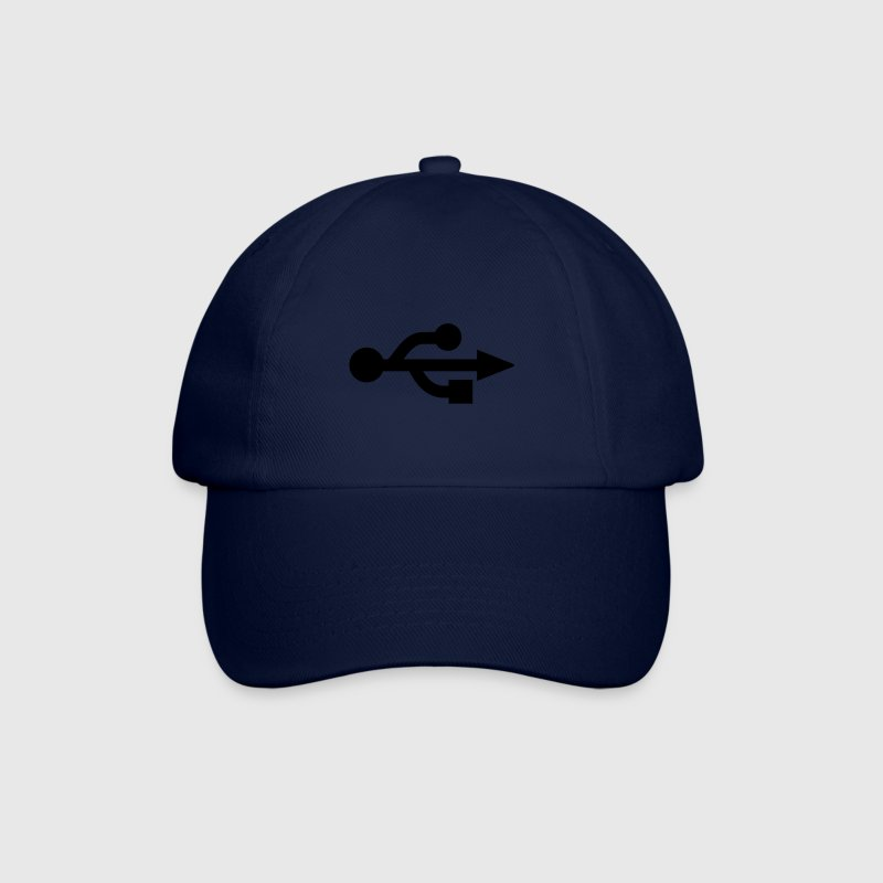 Blue/blue USB Logo - Nerd - Geek Caps & Hats - Baseball Cap