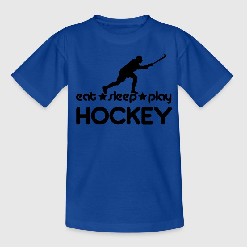 Eat Sleep Play Hockey Kids' Shirts - Teenage T-shirt