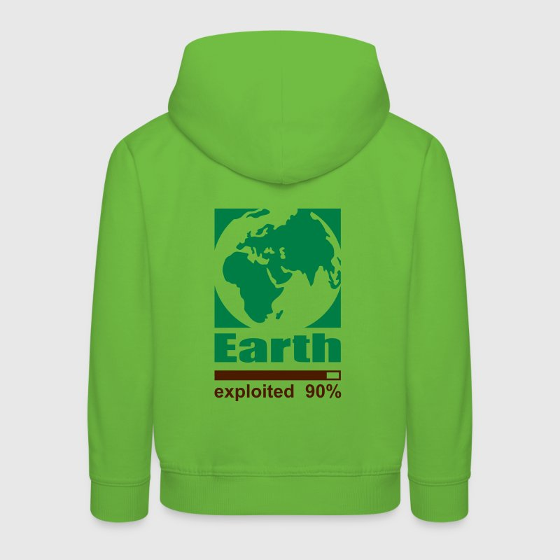 Earth exploited Sweats Enfants - Pull à capuche Premium Enfant