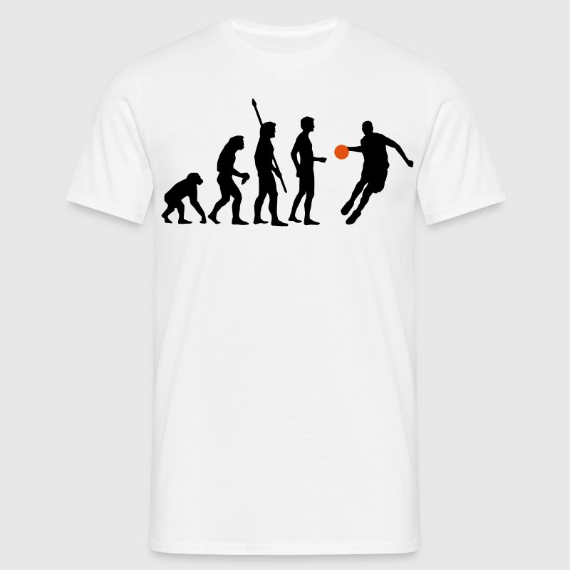 evolution_basketball_072011_l_2c T-Shirts - Men's T-Shirt