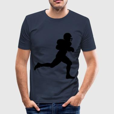 American Football - Männer Slim Fit T-Shirt