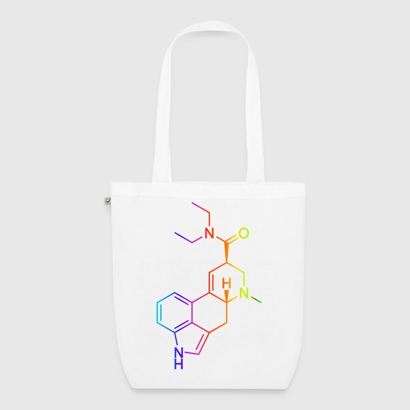 LSD Molecule Colored Bags  - EarthPositive Tote Bag