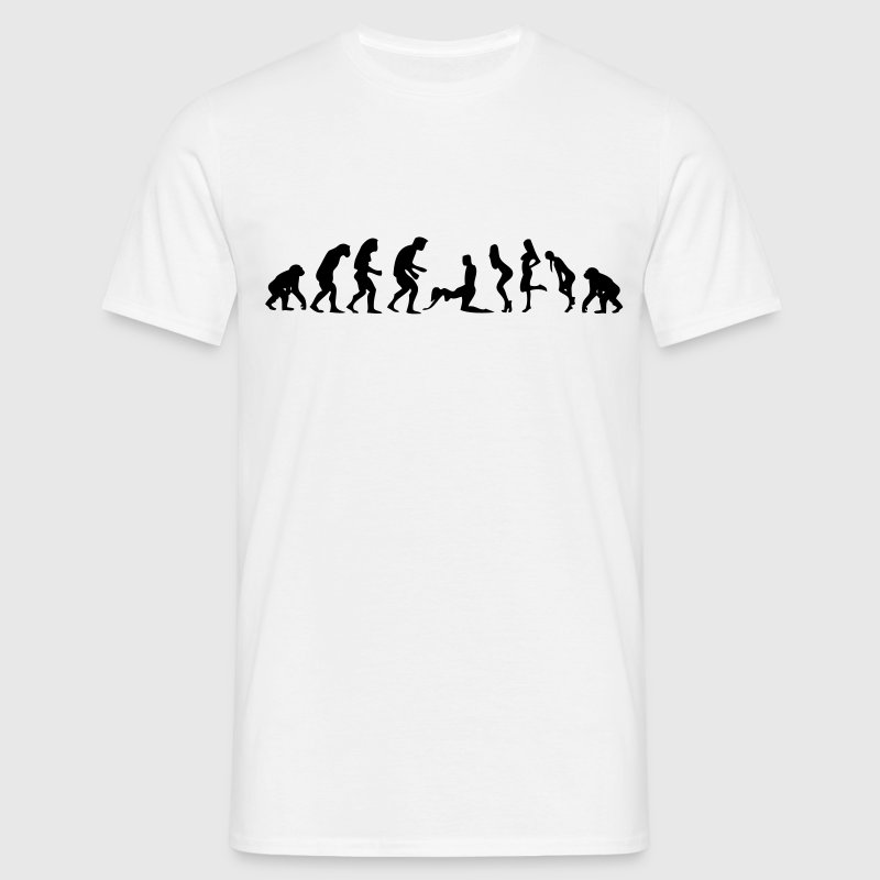 Evolution woman kamasutra doggy position - Men's T-Shirt