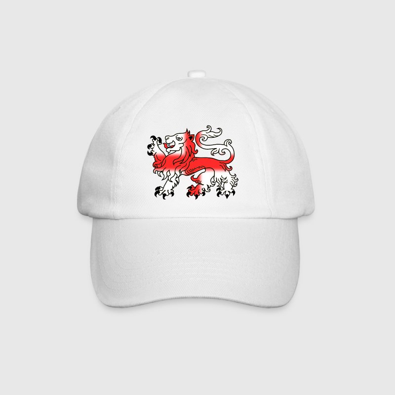 English Lion Passant with St George's Cross - Baseball Cap