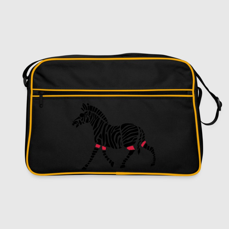'Blind Zebra Referee' eishockey retro tasche - Retro Tasche