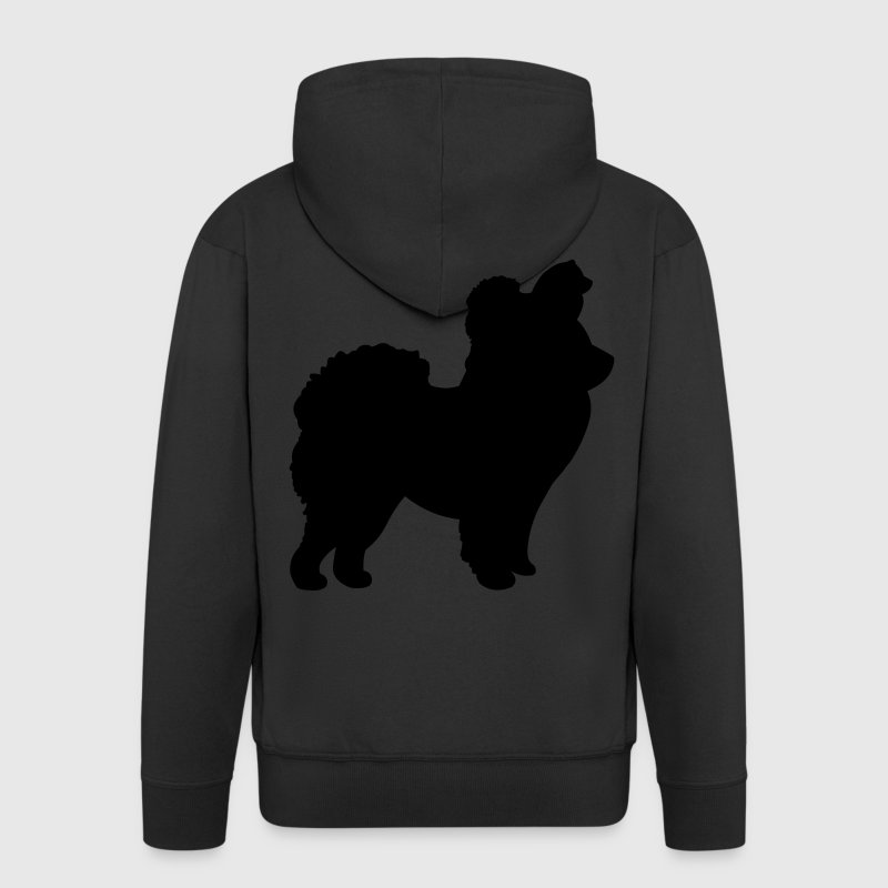 Chow Chow Dog Coats & Jackets - Men's Premium Hooded Jacket