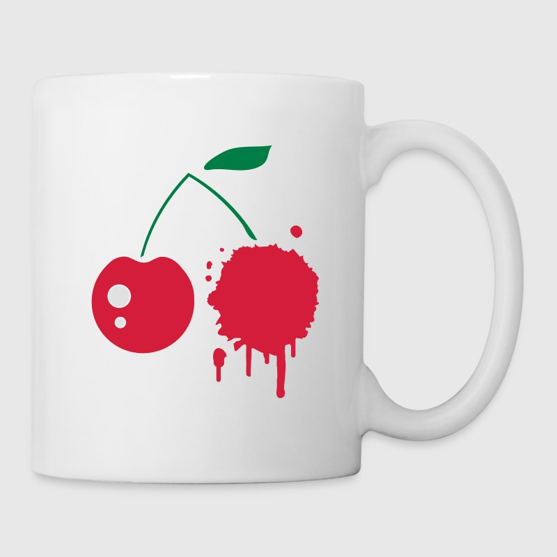 A cherry graffiti Mugs  - Mug