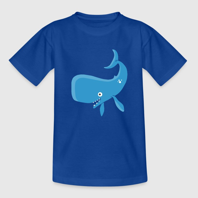 Walfisch Wal Fisch - Teenager T-Shirt