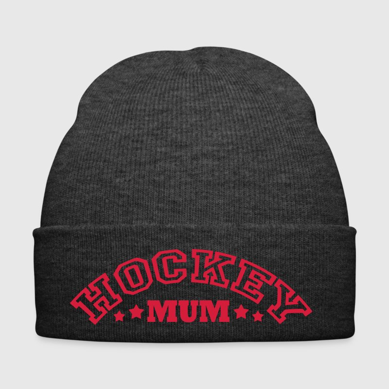 Hockey Mum (arched text) Caps & Hats - Winter Hat