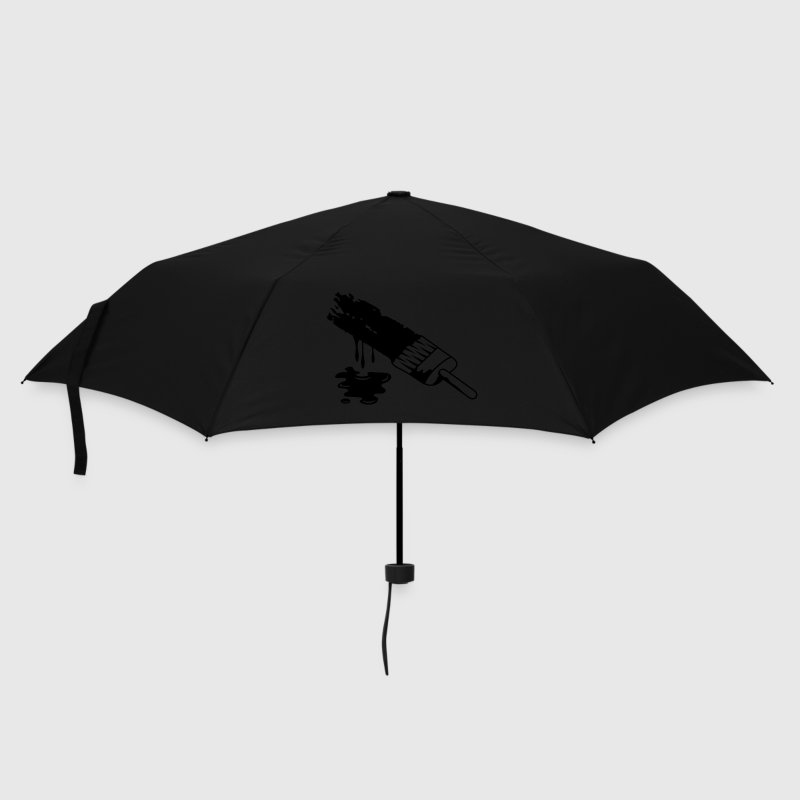 A brush and dripping paint Umbrellas - Umbrella (small)