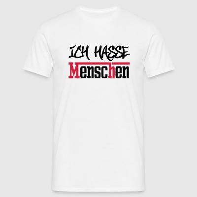 suchbegriff 39 ich hasse menschen 39 t shirts online. Black Bedroom Furniture Sets. Home Design Ideas