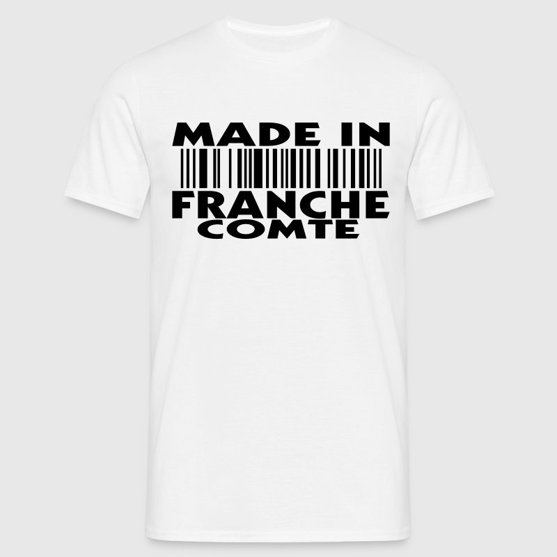made in FRANCHE COMTE (1c) T-shirts - T-shirt Homme
