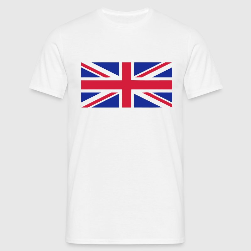 flag english drapeau anglais union Jack Tee shirts - T-shirt Homme