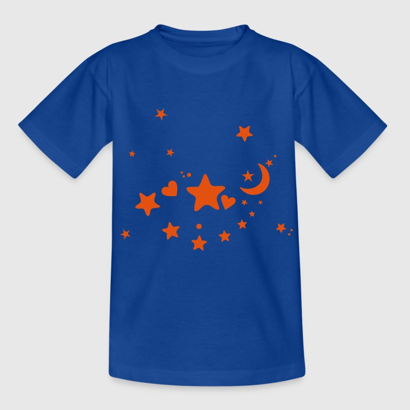 Sternenhimmel Mond Kindershirts T-Shirts - Teenager T-Shirt