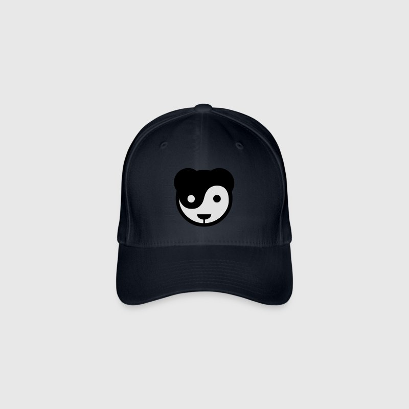 yin yang panda teddy Caps & Hats - Flexfit Baseball Cap