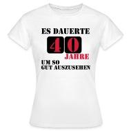 Geburtstag 40 jahre frau