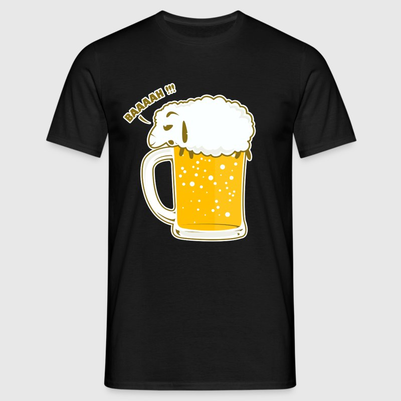 BEER SHEEP - Men's T-Shirt