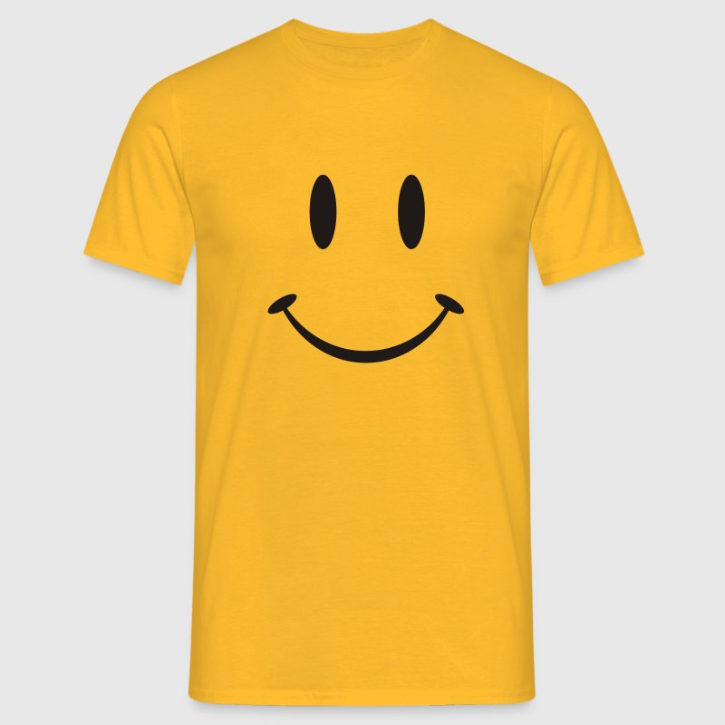 Big Smiley T-Shirts - Männer T-Shirt