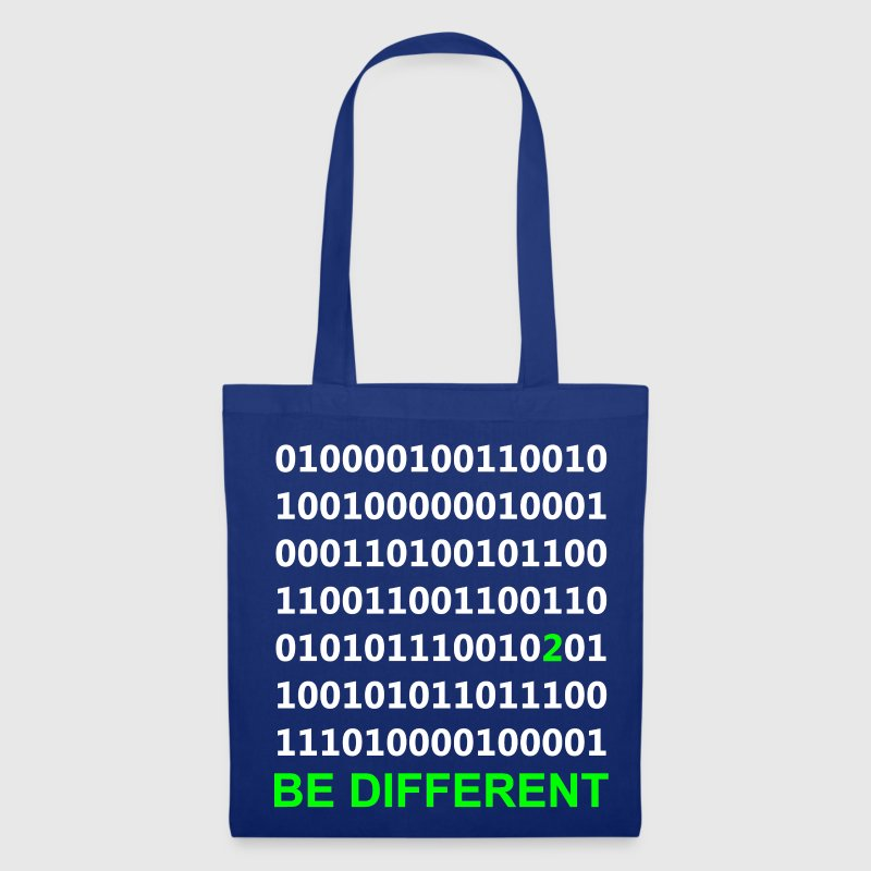 Be Different - Binär - Digital Taschen - Stoffbeutel