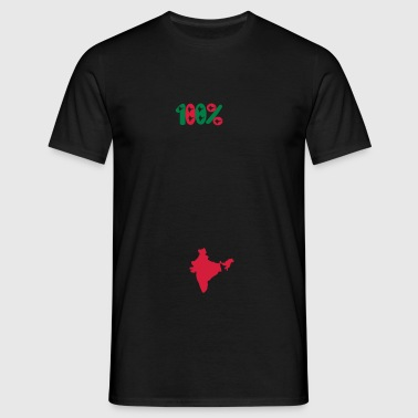 100% INDIA  100% भारत - T-shirt Homme