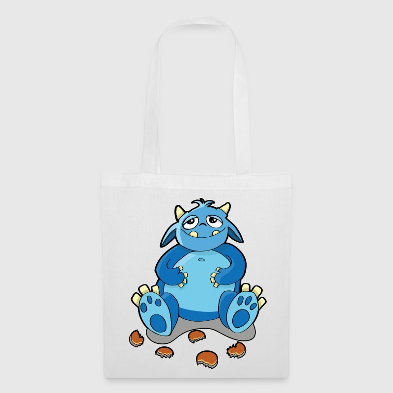 Cookie Monster - la fame, briciole Borse - Borsa di stoffa