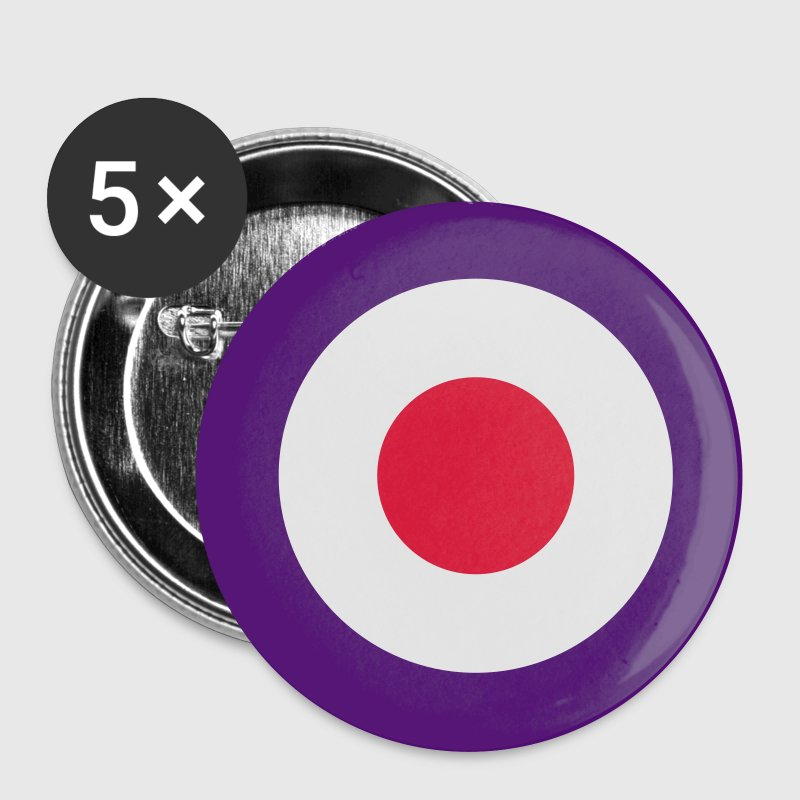 Mod Target United Kingdom Großbritannien Rollerfahrer Scooter Run Beatmusik Bottoni/Spille - Spilla grande 56 mm