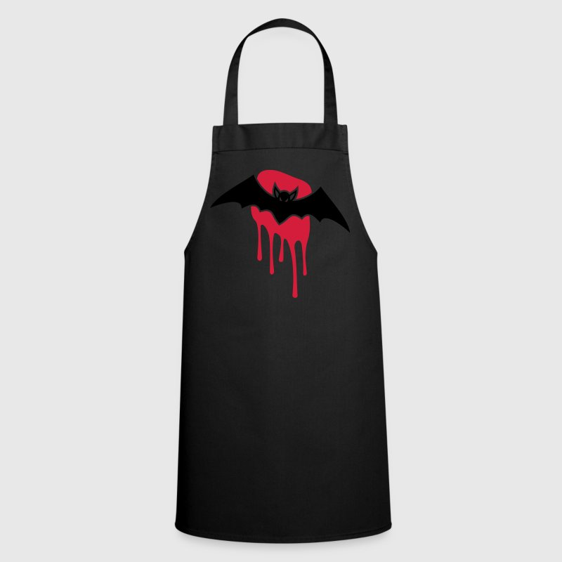 Bat - Blood - Evil - Scary  Aprons - Cooking Apron
