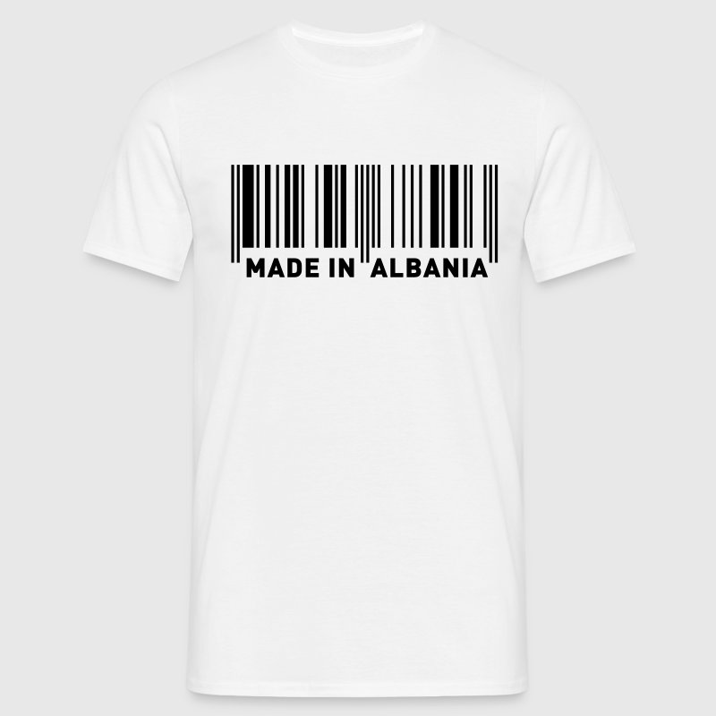 MADE IN ALBANIA T-Shirts - Men's T-Shirt