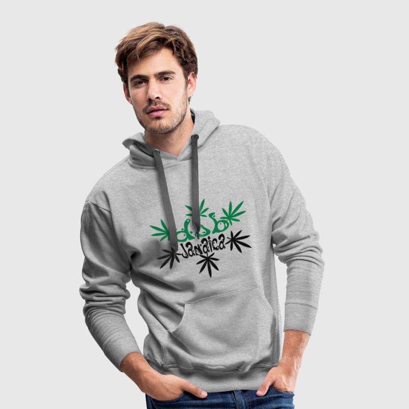 dub jamaica Sweat-shirts - Sweat-shirt à capuche Premium pour hommes