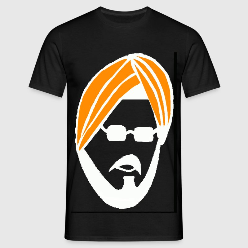 sardar ji in white T-Shirts - Men's T-Shirt