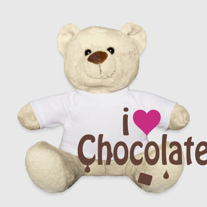 I love chocolate Teddies - Teddy Bear
