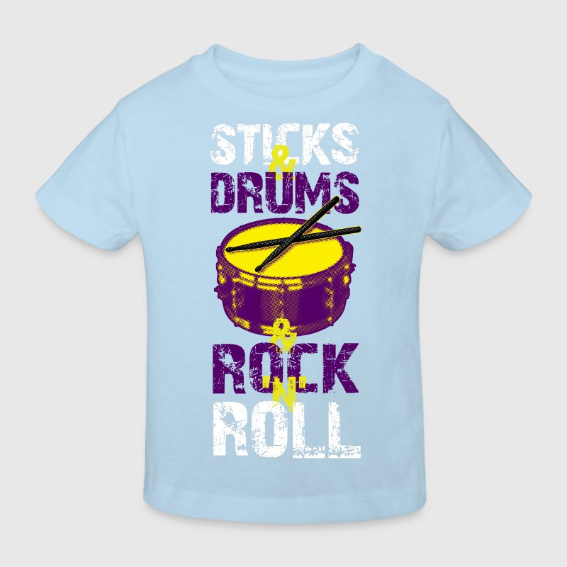 Sticks+Drums+Rock+Roll Part 3 - Kinder Bio-T-Shirt