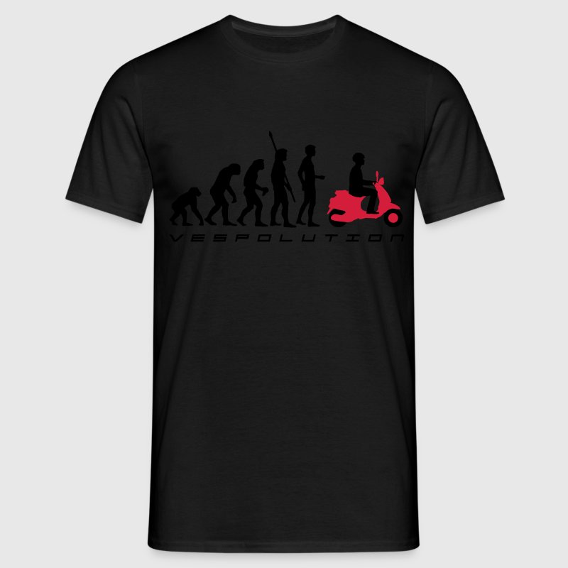 vespolution evolution__b_2c - Men's T-Shirt