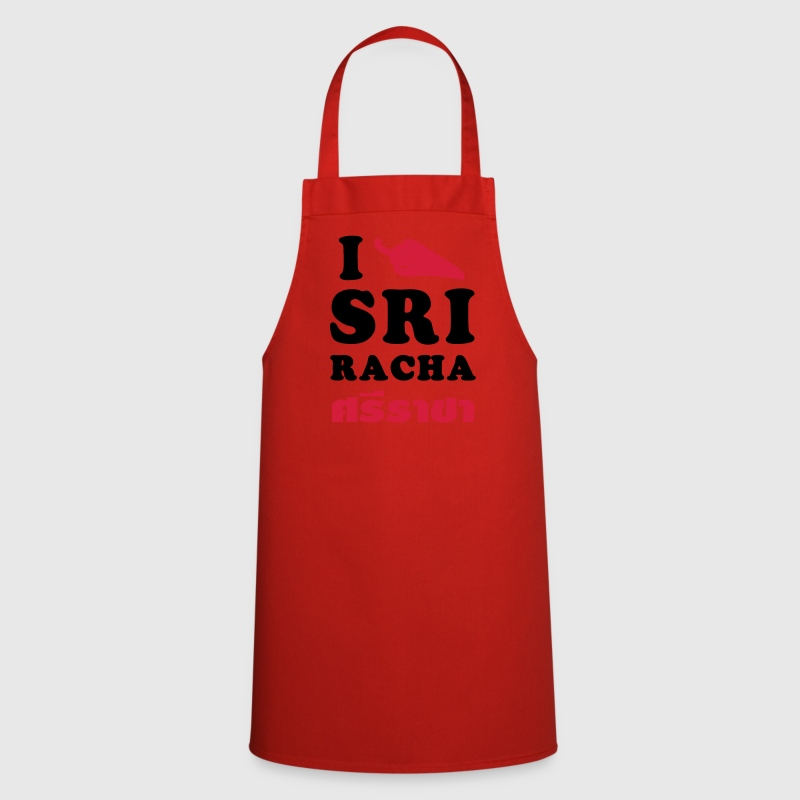 I Love Sriracha / Glow in the Dark - Cooking Apron