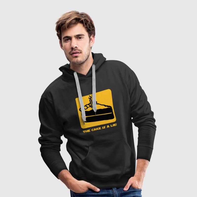 The Cake is a Lie Pullover - Männer Premium Hoodie