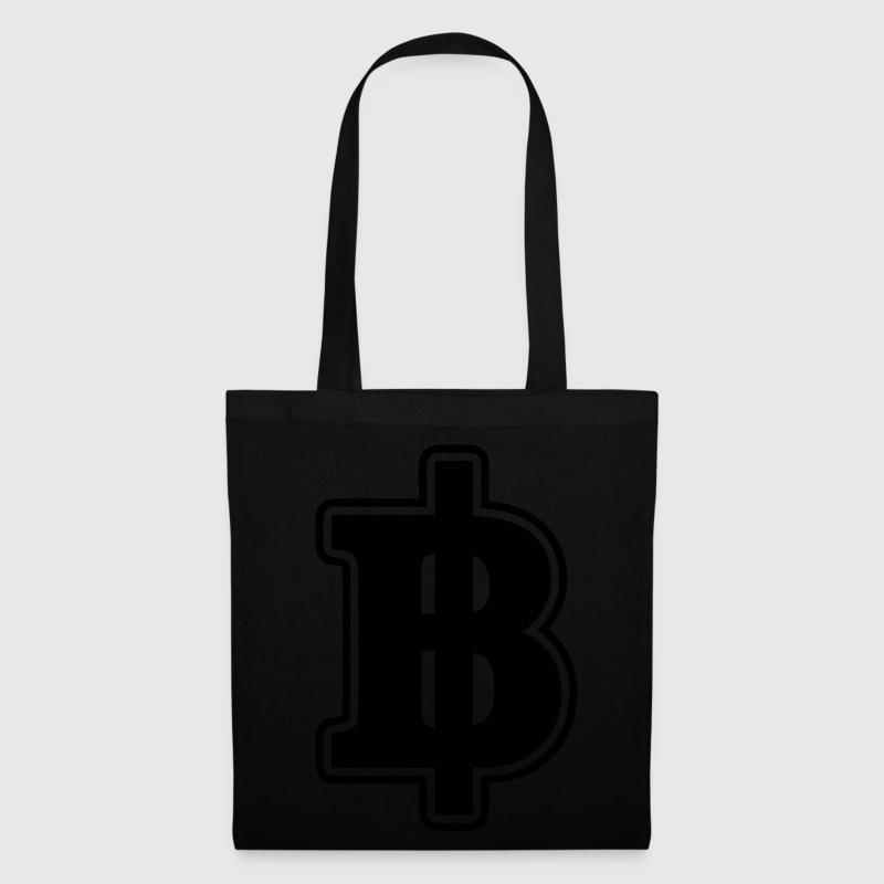 Gold Baht Sign / Symbol Thai / Thailand Money / Currency - Tote Bag