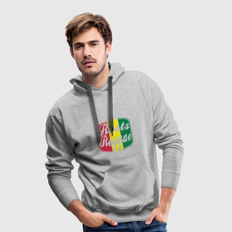 roots reggae Hoodies & Sweatshirts - Men's Premium Hoodie