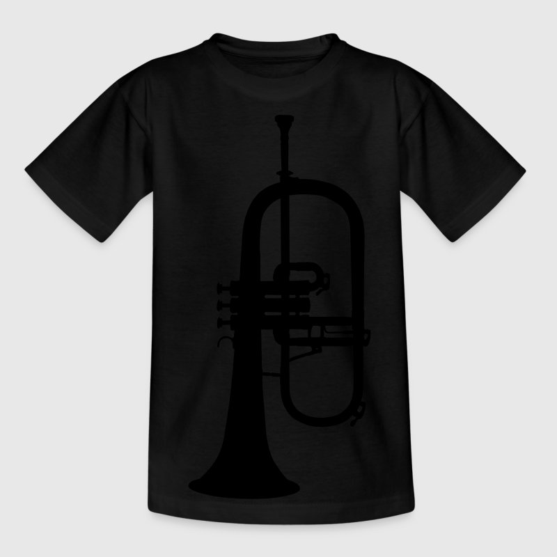 music trumpet brass Kids' Shirts - Teenage T-shirt