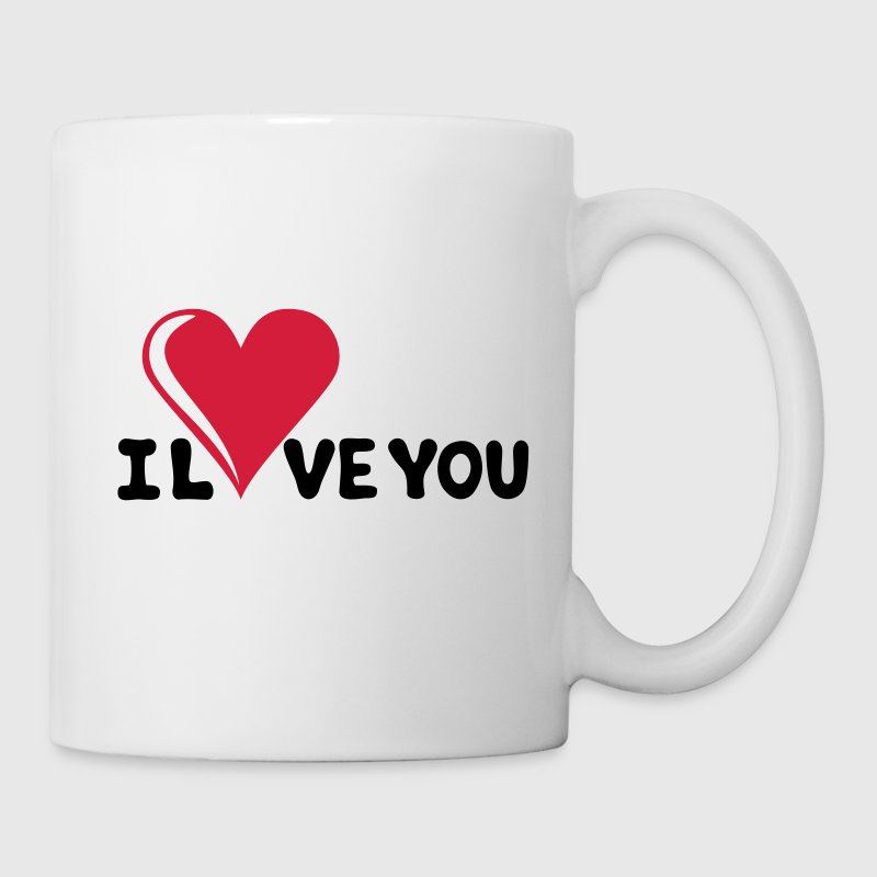 I LOVE YOU - Je t'aime - Saint-Valentin Tasses - Tasse