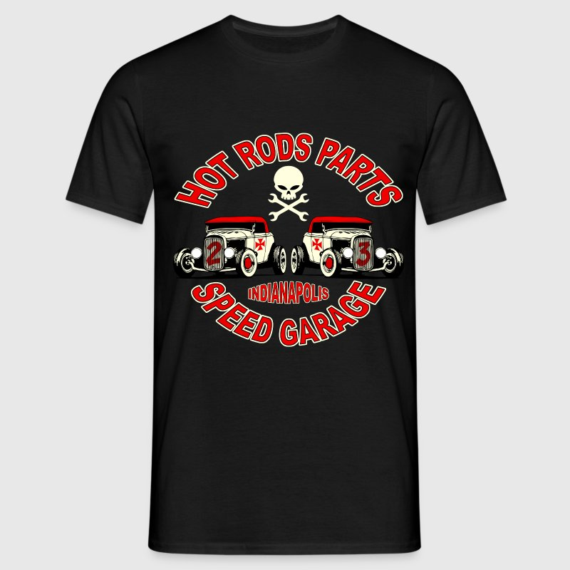 hot_rod_parts_design_3 Tee shirts - T-shirt Homme