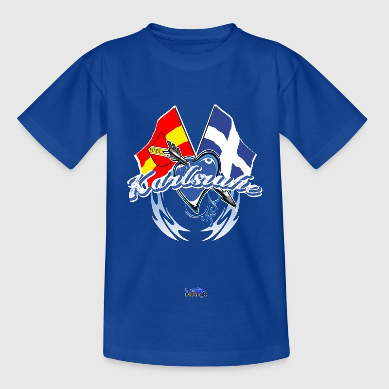 karlsruhe - Flagge zeigen Kinder T-Shirts - Teenager T-Shirt