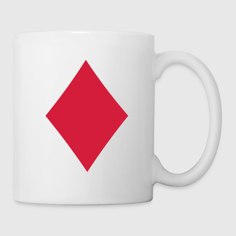 Card Suit - Diamond Mugs  - Mug