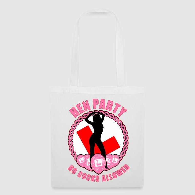 Hen Party: No Cocks Allowed Bags  - Tote Bag