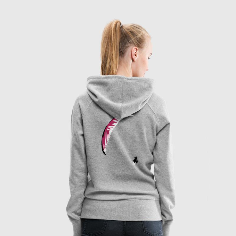 Paraglider Sweat-shirts - Sweat-shirt à capuche Premium pour femmes