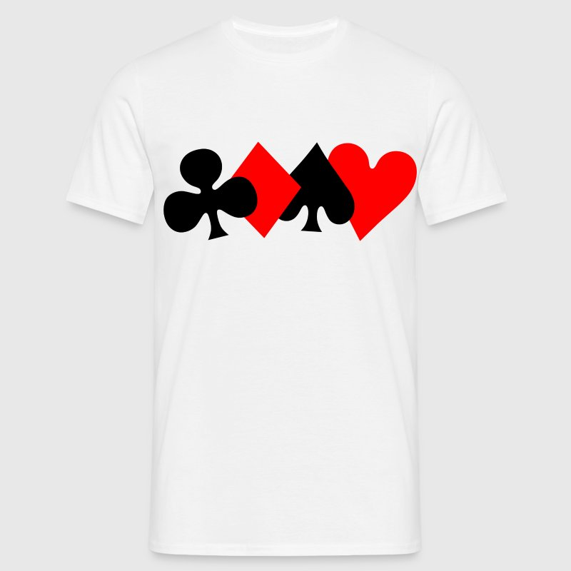 Poker Design T-Shirts - Men's T-Shirt