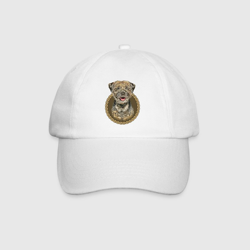 Border Terrier 001 Caps & Hats - Baseball Cap