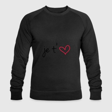Je t'aime Tee shirts - Sweat-shirt bio Stanley & Stella Homme