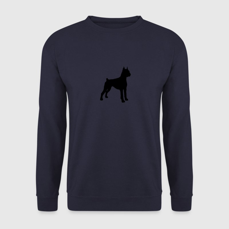 German Boxer - Dog Hoodies & Sweatshirts - Men's Sweatshirt